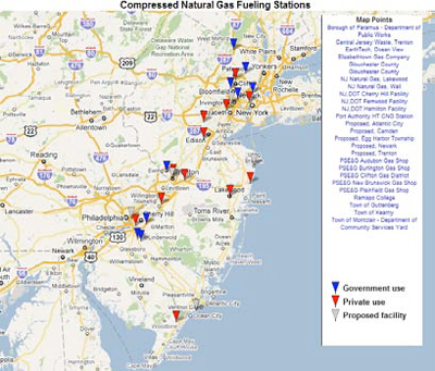 A Greener Future For The Garden State? The Role of Natural Gas Vehicles